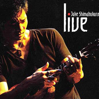 Jake Shimabukuro CD Cover