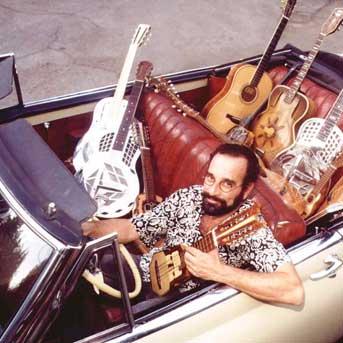 Bob Brozman hat die Gitarren weggestellt