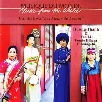 "Huong Thanh – Camkytiwa "" Les Fleurs Du Levant"""