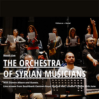 orchestra of syrian musicians