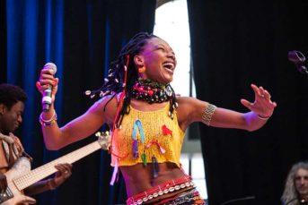 Fatoumata Diawara Afropfingsten 2011