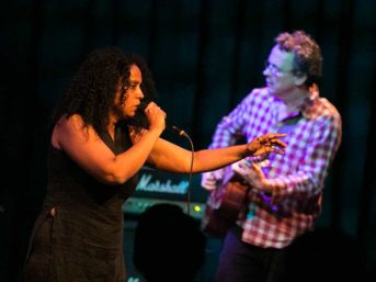 Susheela & Sam live at Moods Club Zurich 2014