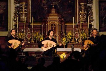 le trio joubran Stanser Musiktage 2010