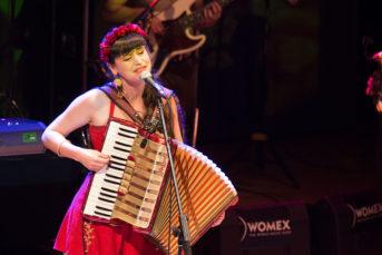 Pascuala Ilabaca at WOMEX 2019