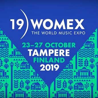 WOMEX 19 Tampere Logo