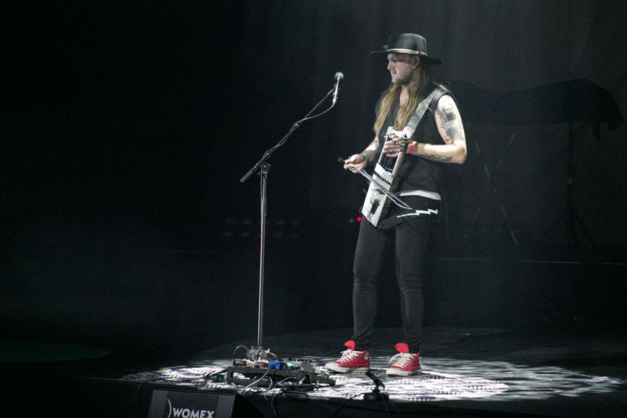 Pekko Käppi live at WOMEX in Tampere